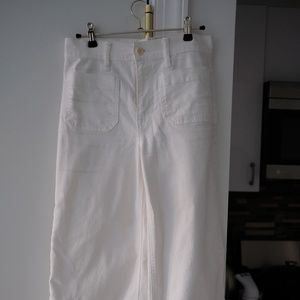 J.Crew Point Sur Washed Wide Pant